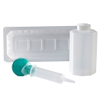 KenGuard Irrigation Tray with 60 cc Piston Syringe